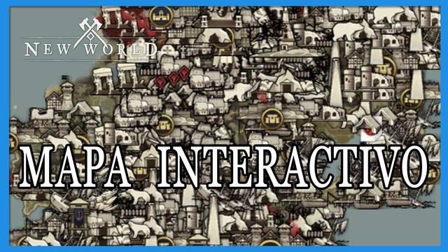 NEW WORLD | Mapa interactivo de recursos, localizaciones, etc.