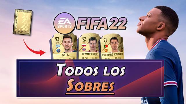 FIFA 22 | Recompensas de sobres, probabilidades y precios (FUT 22)