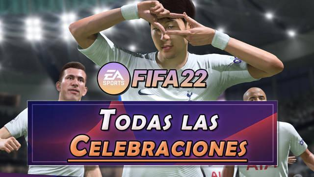 FIFA 22: TODAS las celebraciones y cómo hacerlas (nuevas, secretas, etc.)