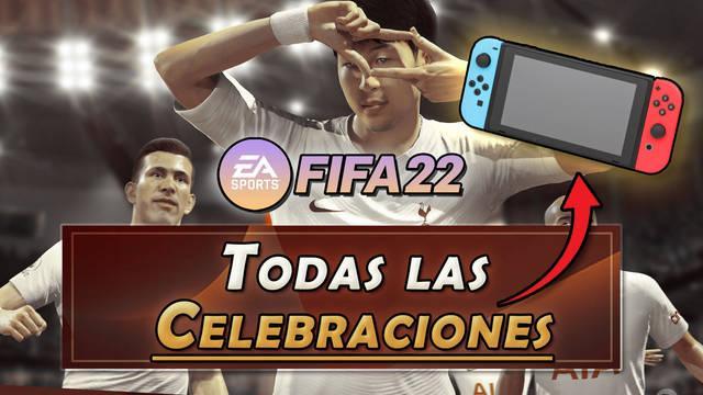 FIFA 22: Todas las celebraciones en Nintendo Switch y cómo hacerlas