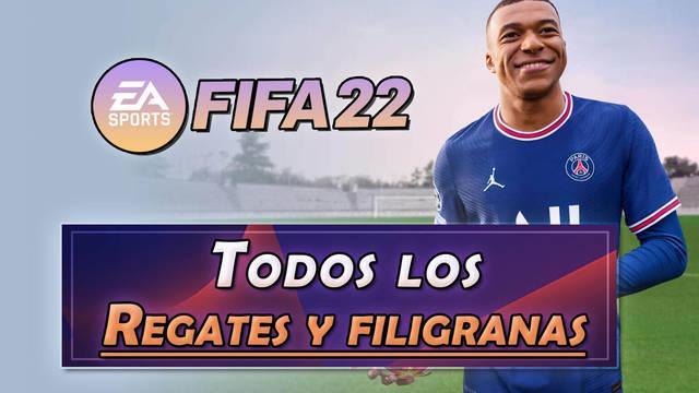 FIFA 22: Cómo hacer TODOS los regates y filigranas (nuevos y secretos...)