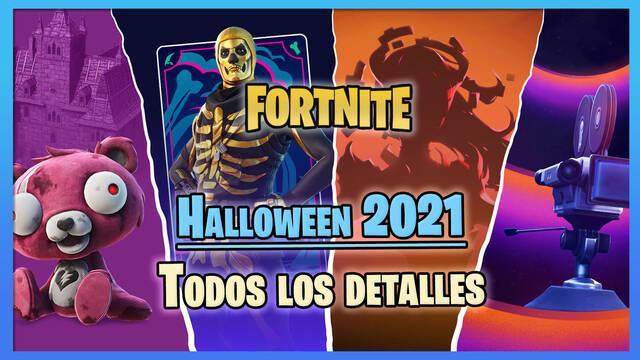 Halloween 2021 en Fortnite: todos los detalles