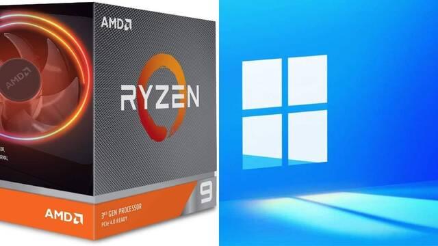 Fallo con los procesadores Ryzen en Windows 11