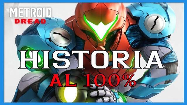 Historia al 100% en Metroid Dread