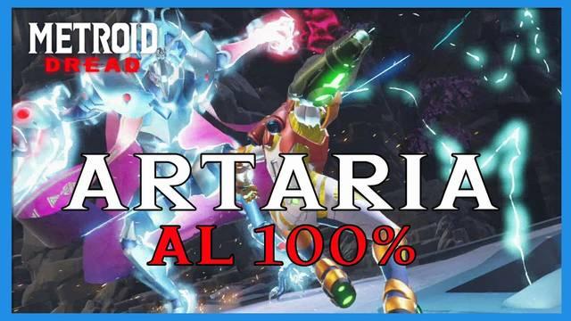 Artaria en Metroid Dread y cómo completarla al 100%