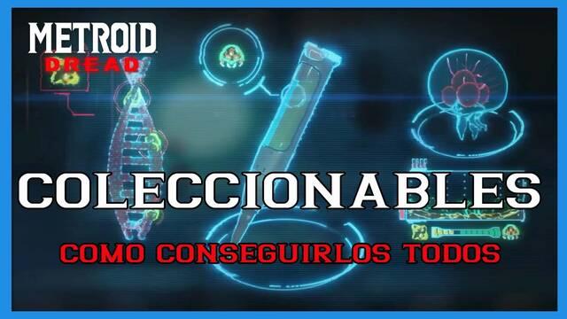 Metroid Dread: TODOS los coleccionables y cómo conseguirlos