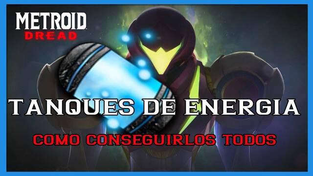 Metroid Dread: TODOS los tanques de energía y cómo conseguirlos
