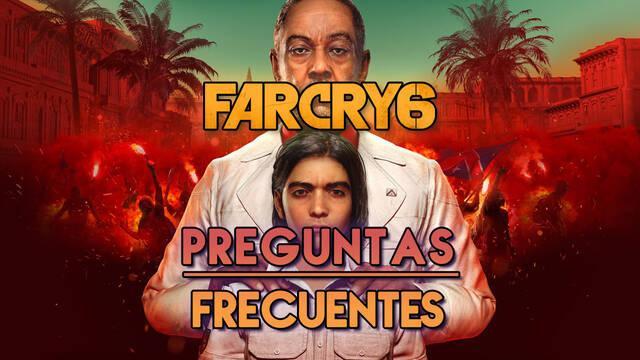 Preguntas frecuentes en Far Cry 6 y resolución de problemas