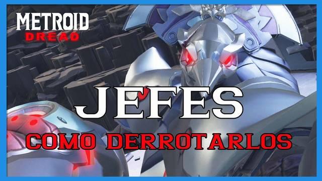 Metroid Dread: TODOS los jefes y cómo derrotarlos