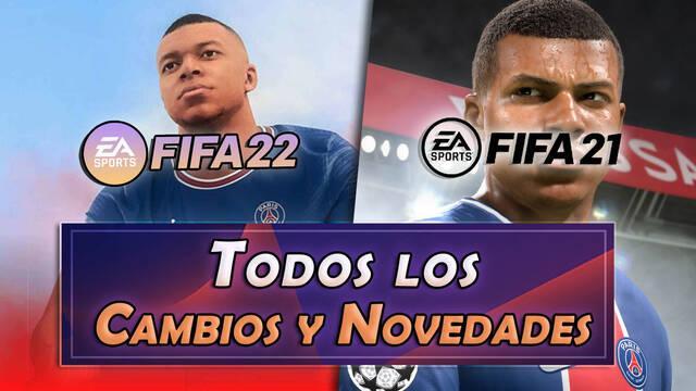 FIFA 22 vs FIFA 21: TODAS las novedades, diferencias principales y cambios