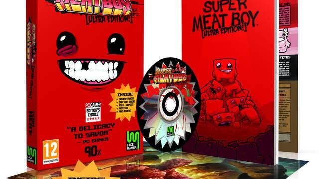 Detalladas las ediciones físicas para Europa de Super Meat Boy