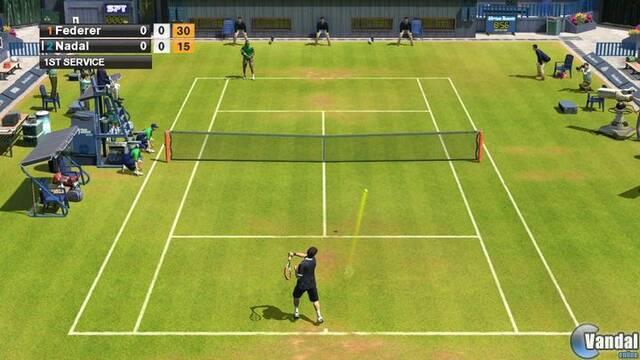Nuevas imágenes de Virtua Tennis 2009