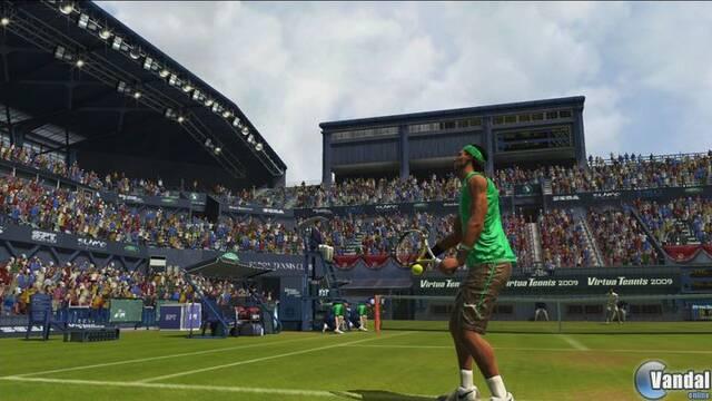 Primeras imágenes y vídeo de Virtua Tennis 09