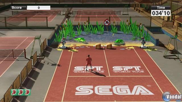 Sega muestra los minijuegos en Virtua Tennis 2009