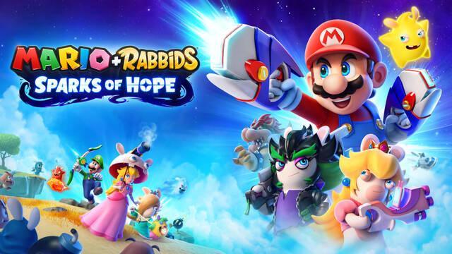Mario + Rabbids: Sparks of Hope llegará a Nintendo Switch en 2022.
