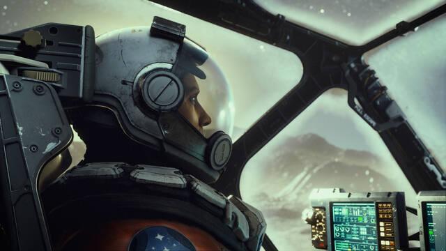 Starfield tráiler gameplay