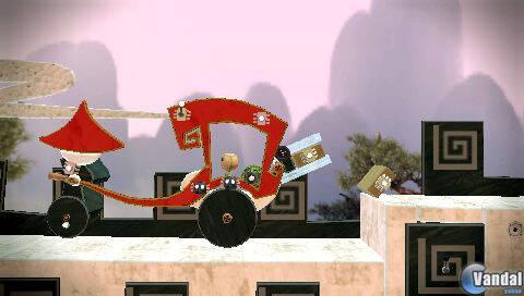E3: Primeras imágenes de LittleBigPlanet para PSP