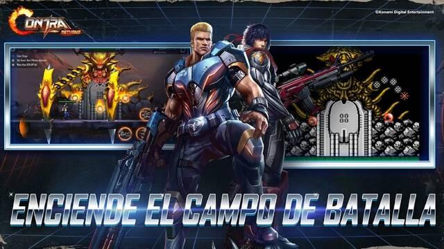 Contra Returns y su lanzamiento en móviles