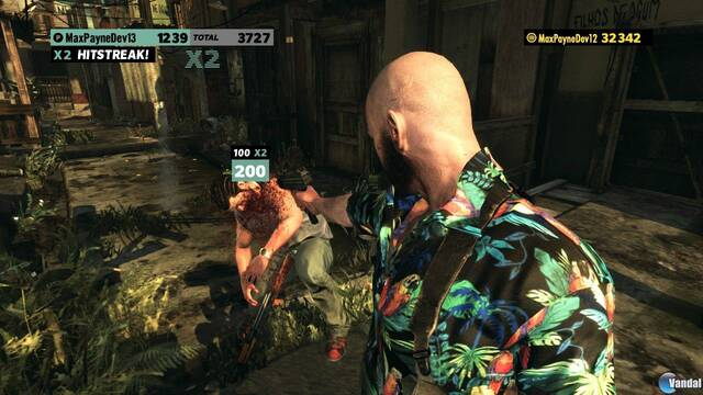 Max Payne 3 se muestra en nuevas imágenes del modo arcade