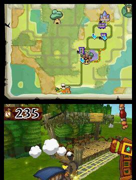Nuevas imágenes y vídeo de Zelda: Spirit Tracks para DS
