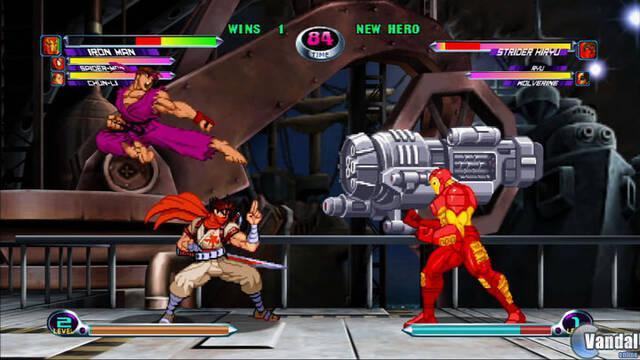 Captivate: Marvel vs Capcom 2 en verano; primeras imágenes y vídeo