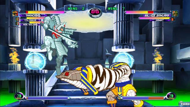 E3: Nuevas imágenes de Marvel vs Capcom 2