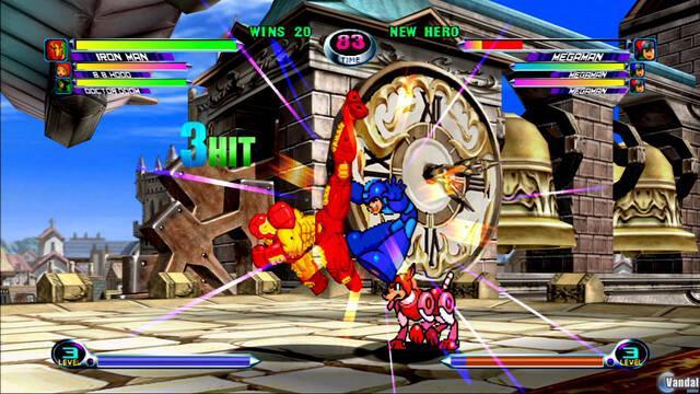 Mega Man y Ironman se enfrentan en Marvel vs Capcom 2