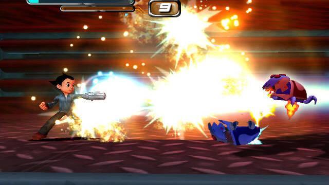 Nuevas imágenes de Astro Boy para PlayStation 2