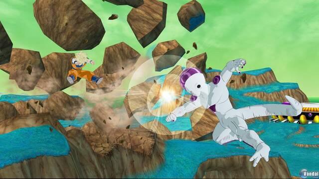 E3: Nuevas imágenes de Dragon Ball Z: Raging Blast