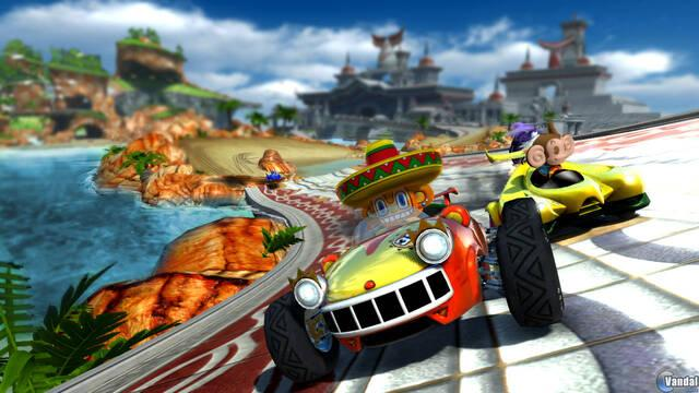 Nuevas imágenes de Sonic and SEGA All-Stars Racing