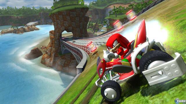 GC: Nuevas imágenes de Sonic and SEGA All-Stars Racing