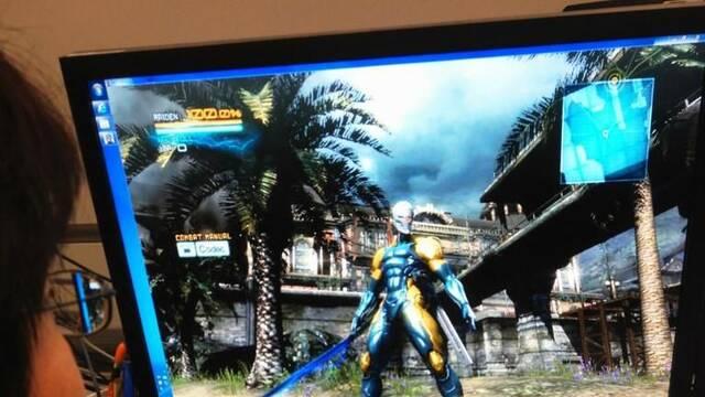 Un vistazo al traje de Cyborg Ninja en Metal Gear Rising: Revengeance