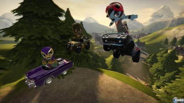E3: Diseña y compite en ModNation Racers para PS3