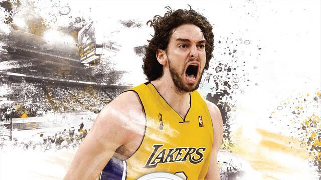 Gasol vuelve a ser portada de NBA Live en España