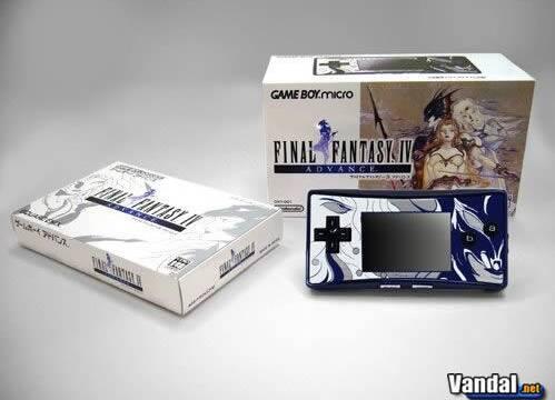 Japón recibirá una GBmicro especial de Final Fantasy IV