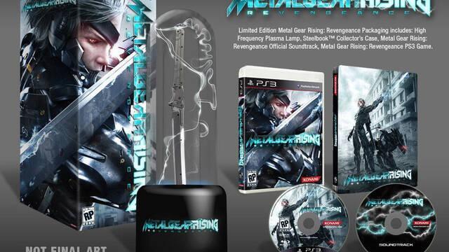 Konami deja ver la edición limitada de Metal Gear Rising: Revengeance