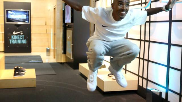 Nike+ Kinect Training llega a las tiendas con Mo Farah
