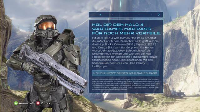 Filtradas las fechas para los descargables de Halo 4