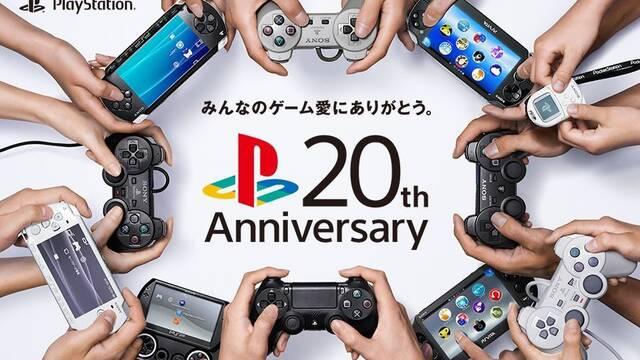 Sony presenta un vídeo para celebrar los 20 años de PlayStation en Japón