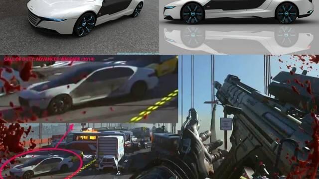 Un diseñador español acusa a COD: Advanced Warfare de plagiar su coche