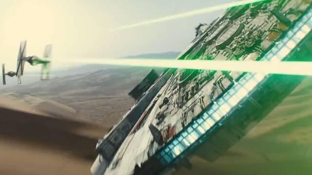 Primer tráiler de Star Wars: El Despertar de la Fuerza