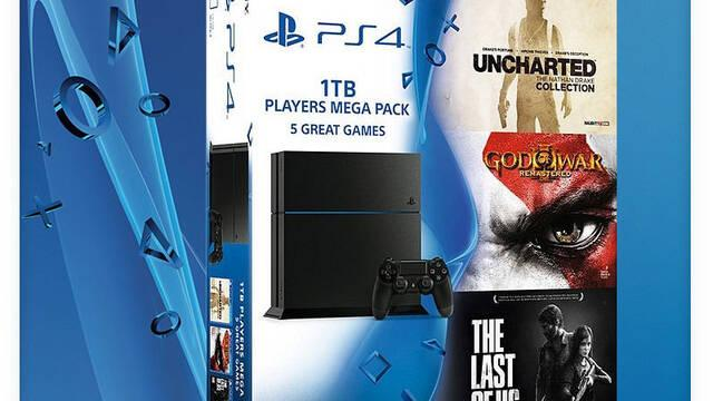 GAME anuncia el 'pack definitivo' de PlayStation 4 con varios juegos