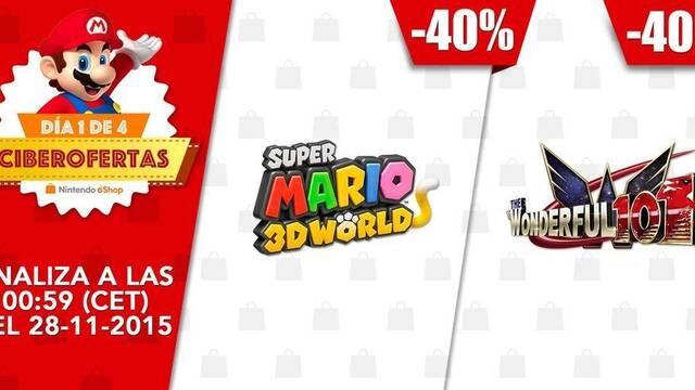 Primer día de Ciberofertas en la eShop de Nintendo 3DS y Wii U