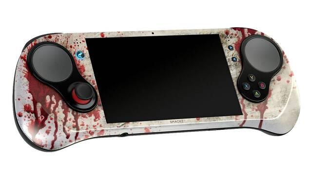 La consola portátil SMACH Z presenta su edición especial de temática zombi