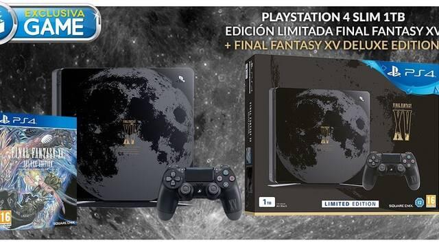 GAME venderá en exclusiva la edición limitada de PS4 Slim con motivos de FF XV
