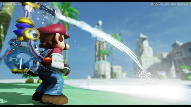 Un fan recrea Super Mario Sunshine en Unreal Engine 4