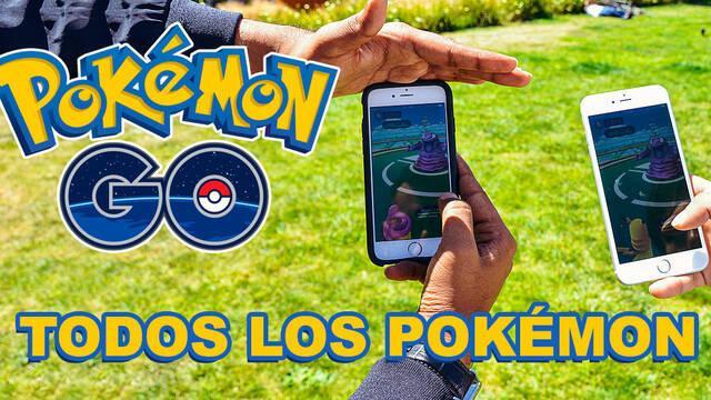 Estos son TODOS los Pokémon de Pokémon Go