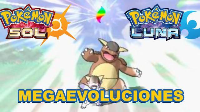 Las megaevoluciones en Pokémon Sol y Luna