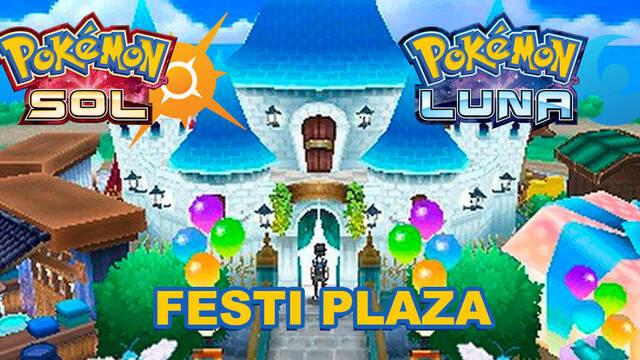 Cómo funciona la Festi Plaza de Pokémon Sol y Luna