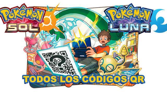 TODOS los códigos QR de Pokémon Sol y Luna (Incluye Magearna)